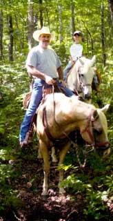 Arkansas trail riding - Cowboy Up Trails